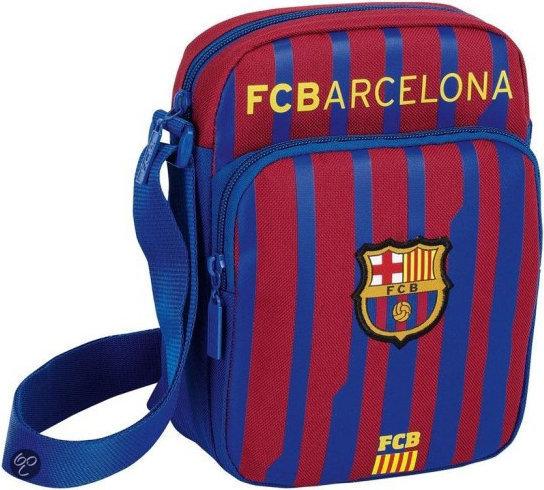Schoudertas Barcelona Gestreept