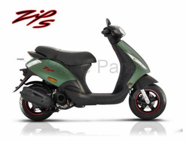 Scooter 25km Zip S 4t (euro4) Mat/Groen