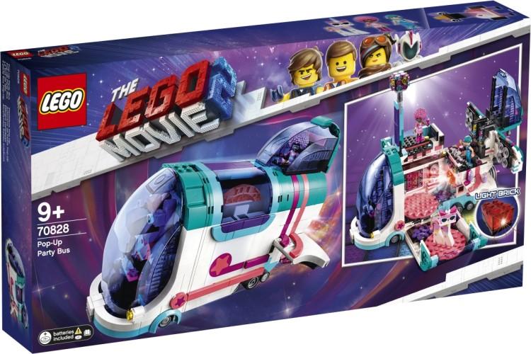 Uitklap feestbus Lego (70828)