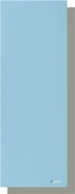 Avento Mat Fitness/Pilates PVC Lichtblauw/Lichtgrijs