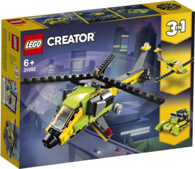 Helikopter avontuur Lego (31092)