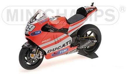 Ducati DESMOSEDICI GP 11.1 69 NICKY HAYDEN MOTOGP 2011 (MINICHAMPS 1:12)