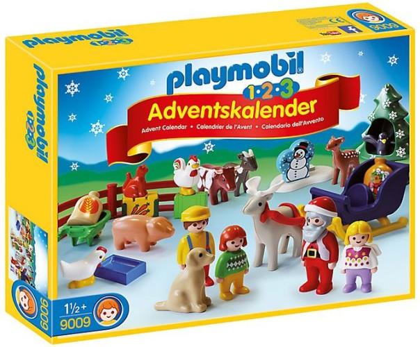 1.2.3 Adventskalender kerst op de boerderij Playmobil (9009)
