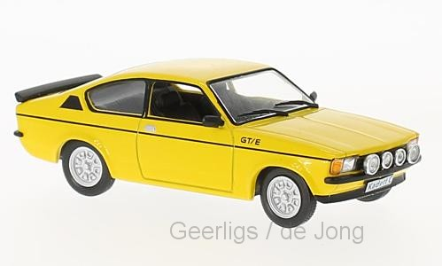 Opel KADETT C GTE 1978 GEEL (1:43) WHITEBOX