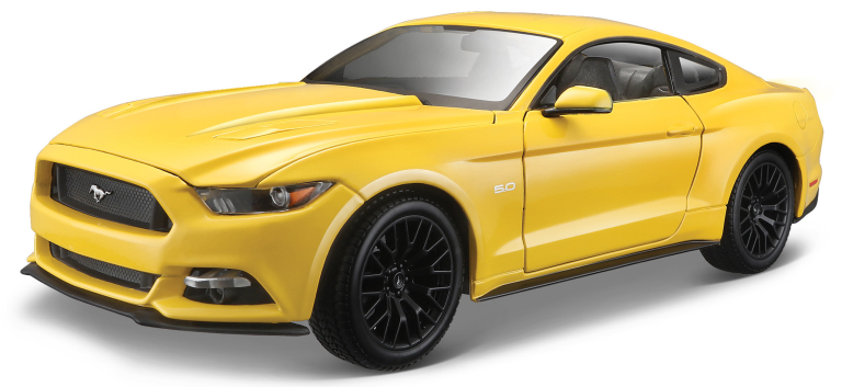 FORD MUSTANG GT 2015 GEEL (1:18) MAISTO