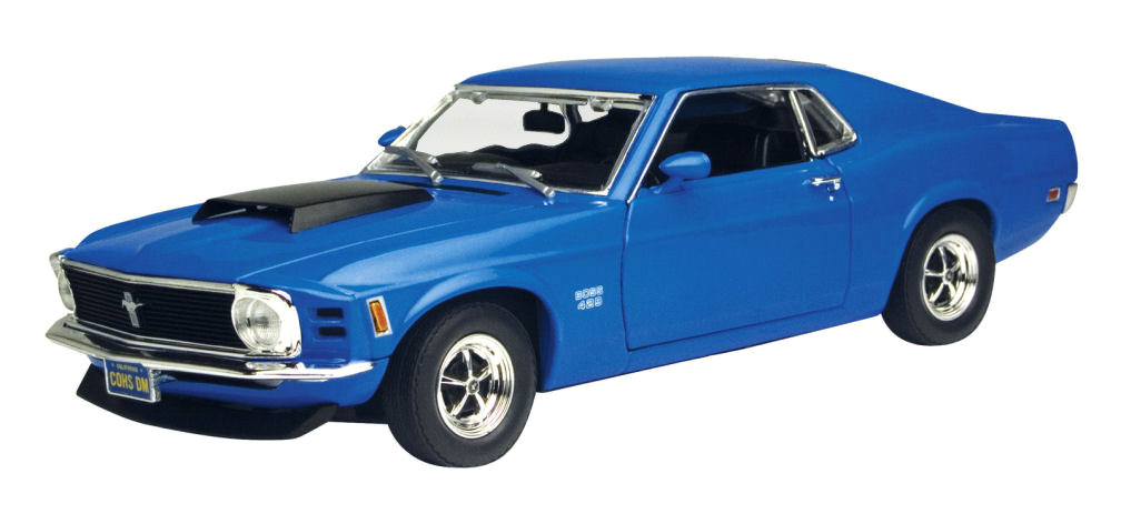 FORD MUSTANG BOSS 429 1970  MOTORMAX (1:24)