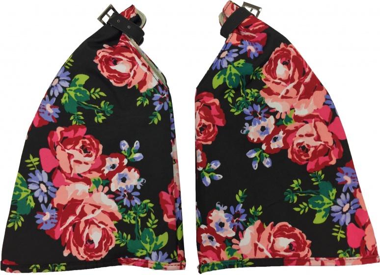 Basil handwarmers Roses zw (HMB50342)