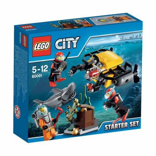 Diepzee Starter Set Lego (60091) City