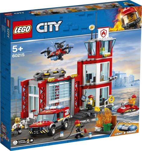 Brandweerkazerne Lego (60215)