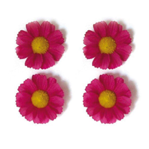 BAS FLOWER MARGRIETJES ROSE SET A 4