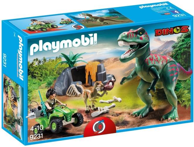 Onderzoeker met Dino´s Playmobil (9231)