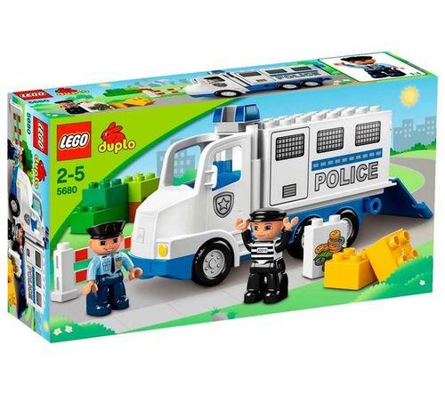 Politie Truck Lego 5680 Duplo
