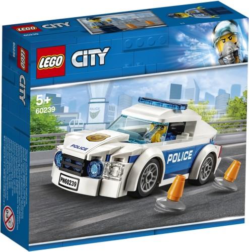 Politiepatrouille auto Lego (60239)