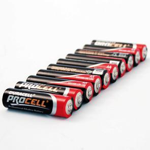 Duracell batt LR6 AA 10 pack
