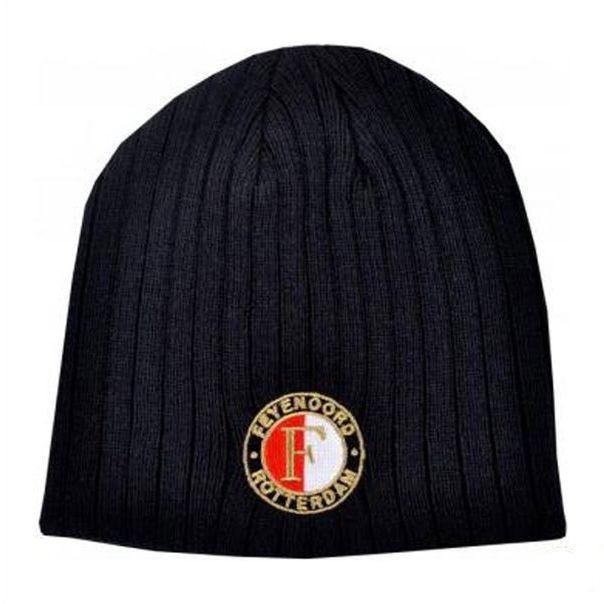 Muts Feyenoord Senior Zwart met Logo