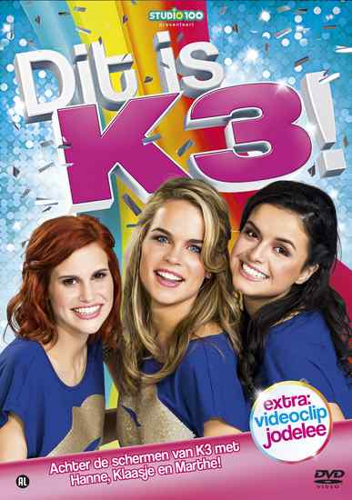 Dvd K3 dit is K3 (F60.A542.077)