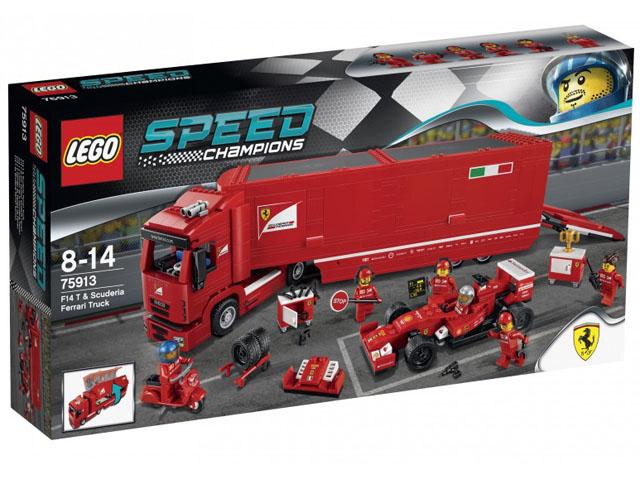 Scuderia Ferrari truck en F14 T Lego 75913