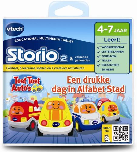 Storio boek Toet toet auto Vtech 4-7 jr (80-232523)