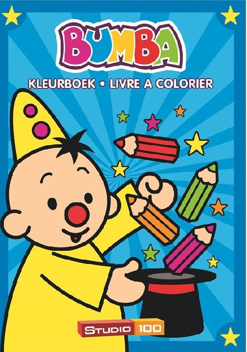 Kleurboek Bumba A4 Boek Goochelen