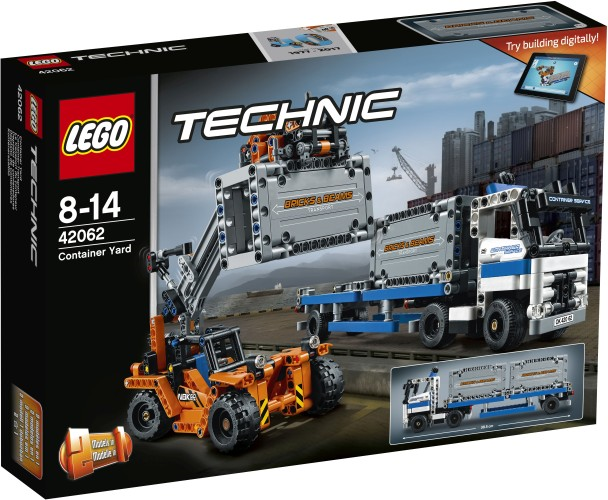Containertransport Lego (42062)