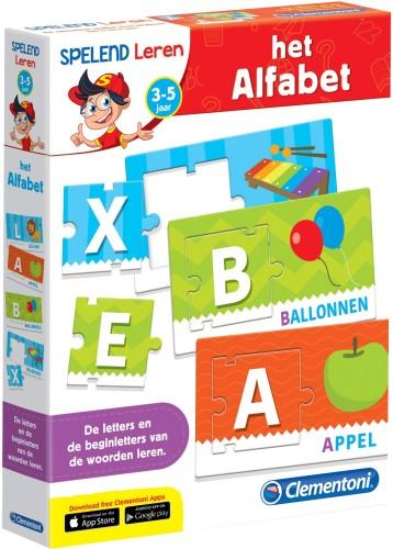 Spelend leren het alfabet Clementoni (66761.1) CLEM201061