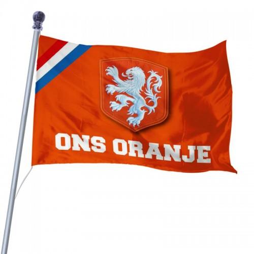 KNVB Ons Oranje Vlag Groot Holland Oranje