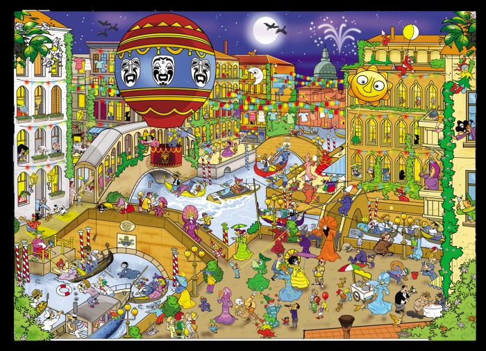 Puzzel That´s Life Venice 1000 stukjes (71335)