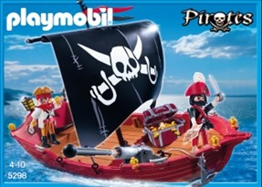 Piratenzeilboot Playmobil 5298