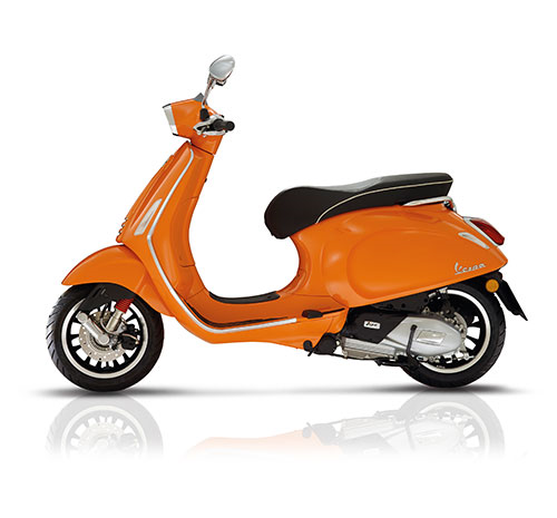 Vespa Scooter 45km Sprint 4t-2v Oranje 890/ a