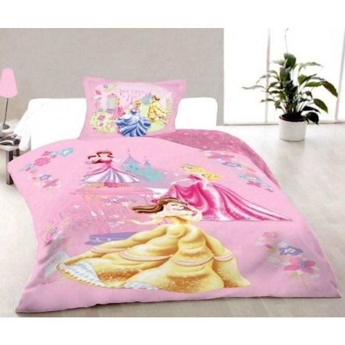 Dekbed Princess Flowers Disney 140x200 cm
