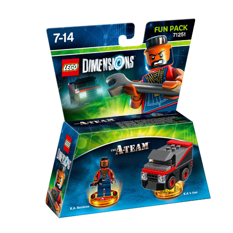 Fun Pack Lego Dimensions W7 The A-Team (71251)