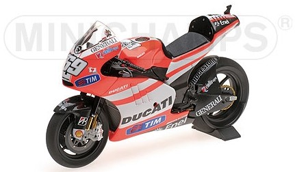 Ducati DESMOSEDICI GP 11.2 69 NICKY HAYDEN MOTOGP 2011 MINICHAMPS1:12)
