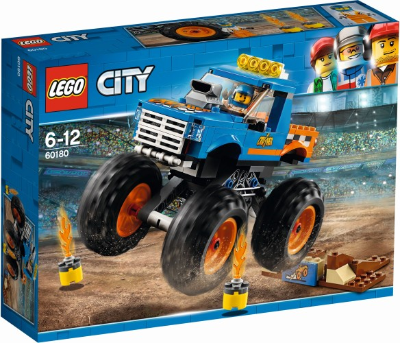 Monstertruck Lego (60180)