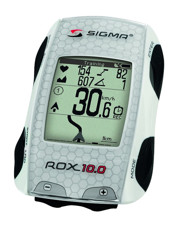 COMPUTER SIGMA ROX 10.0 GPS WHITE ANT+ INCL SOFTWARE