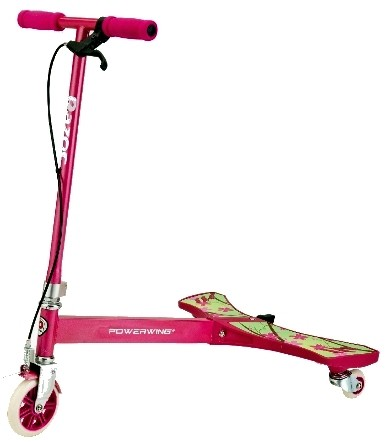 Razor Step Razor Kids Powerwing Roze