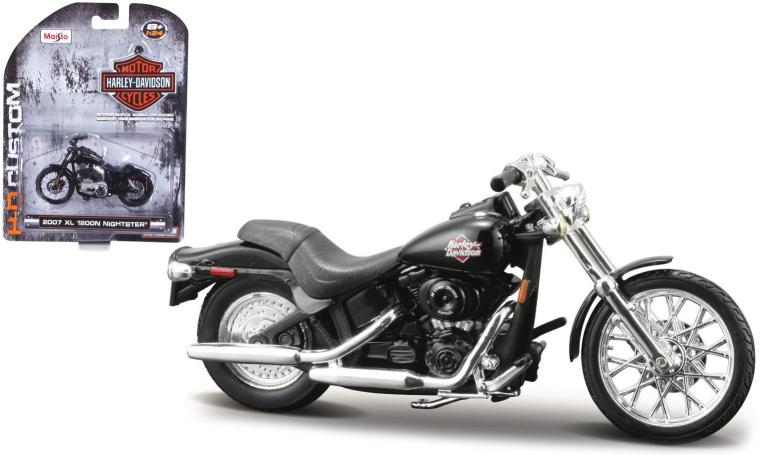 Harley-davidson FXSTB NIGHT TRAIN 2002 (MAISTO 1:24)