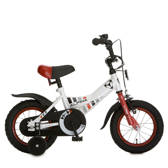 Alpina fiets Comet 12 J rn wit