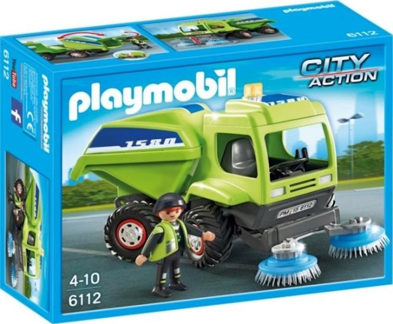 Straatveger Playmobil 6112