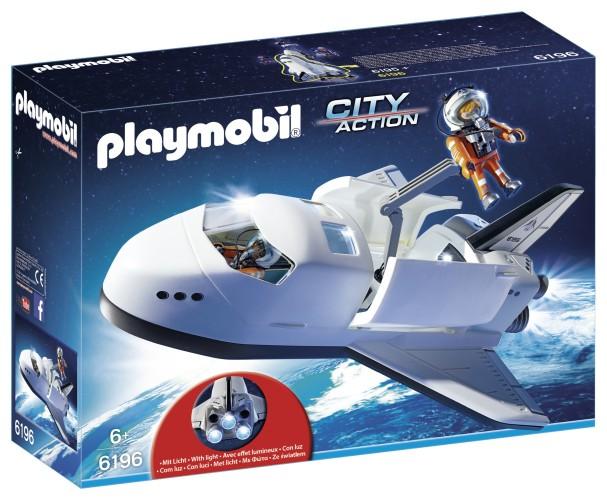 Space Shuttle met bemanning Playmobil (6196)