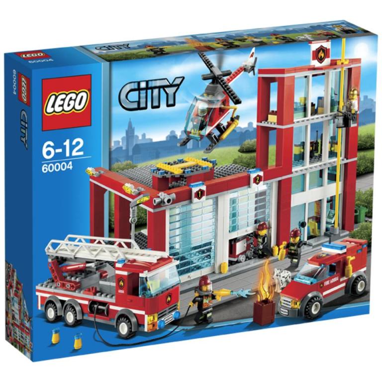 Brandweerkazerne Lego 60004 City
