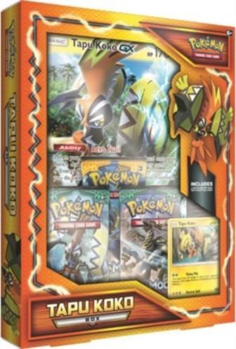 Pokemon Gx Box: Tapu Koko
