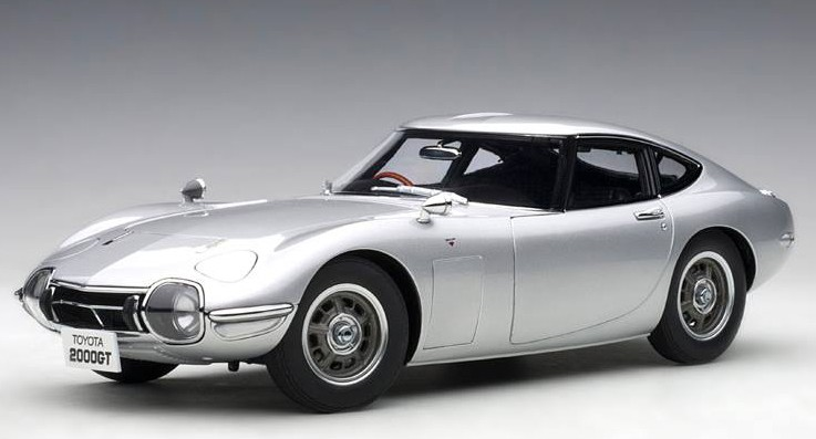 TOYOTA 2000GT COUPE 1965 (COMPOSITE MODEL/FULL OPENINGS)(1:18) AUTOART