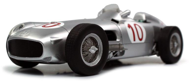 Mercedes Benz W196 10 JUAN MANUEL FANGIO WINNER BELGIAN GP 1955 GP Replicars