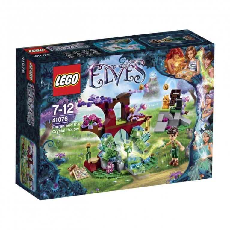 Farran en de Kristalgrot Lego 41076