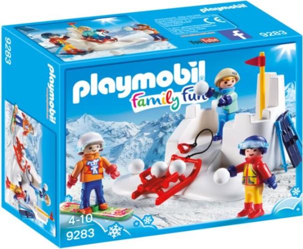 Sneeuwballengevecht Playmobil (9283)