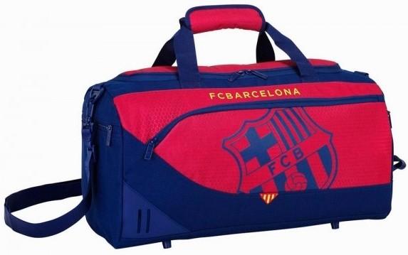 Sporttas Barcelona rood Blaugrana 50x25x28 cm