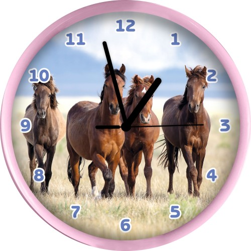 Klok Paarden 25 cm (68304)