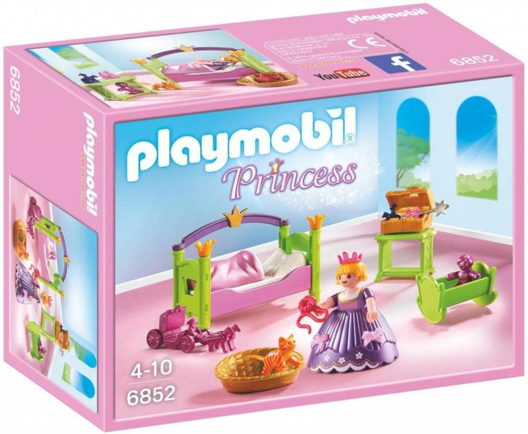 Slaapkamer van de prinses Playmobil (6852)
