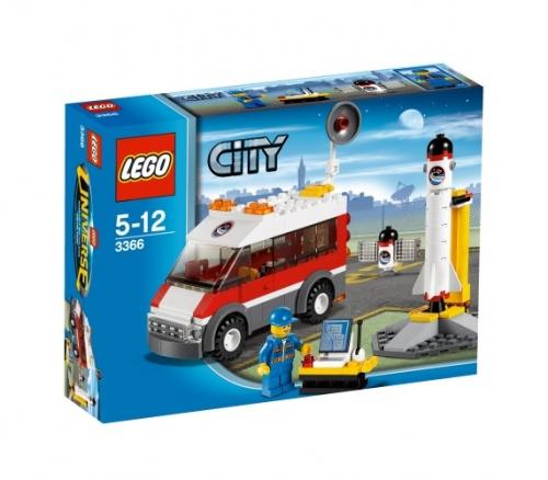 Satelliet Lanceerplatform Lego 3366 City
