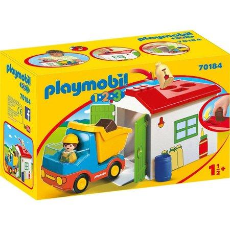 Playmobil Werkman met sorteer-garage Playmobil (70184)